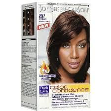 dark and lovely color confidence permanent haircolor dark brown 401 - Dark And Lovely Coloration